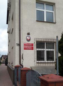 Budynek Urzędu Skarbowego w Biłgoraju.